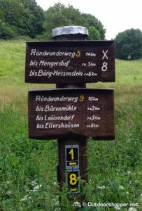 Rundwanderweg Frankenau - Burg Hessenstein