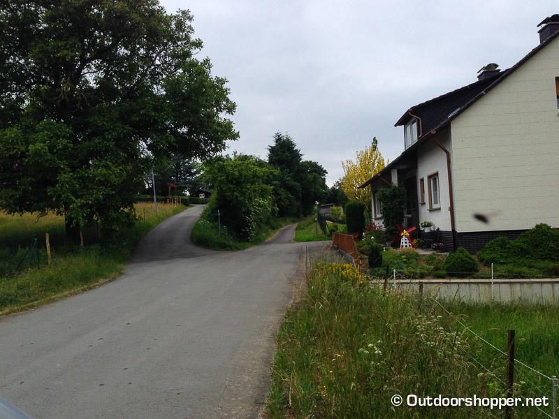 Bachweg in Frankenau