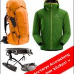 Kletterausrüstung von Arc'teryx: High-End Jacken, Klettergurte und Rucksäcke