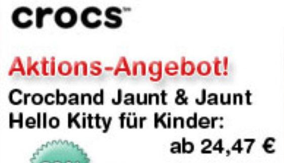 Bergfreunde-Angebot: Crocs Gummistiefel für Kinder