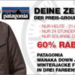 Patagonia Männer-Daunenjacke mit 60% Rabatt