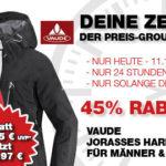 Vaude Jorasses Hardshelljacke mit 45% Rabatt