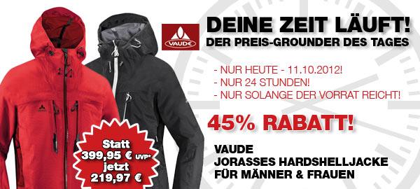 Bergfreunde Angebot: Vaude Jorasses Hardshelljacke