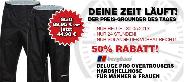 Berghaus Hardshellhose Deluge Pro