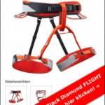 Klettergurt Testsieger: Flight von Black Diamond