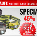 Black Diamond ReVolt – LED Stirnlampe mit 45% Rabatt im Angebot
