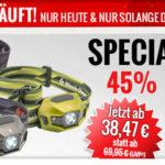 Black Diamond ReVolt – LED Stirnlampe mit 45% Rabatt im Angebot