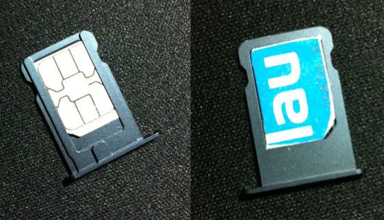 Blau.de Nano SIM