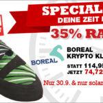 Boreal Kletterschuhe im Angebot mit -35% Rabatt