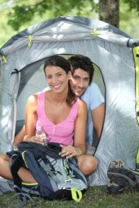 Campen mit dem Partner