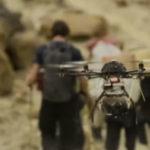 Drohne filmte David Lama und Peter Ortner am Trango Tower