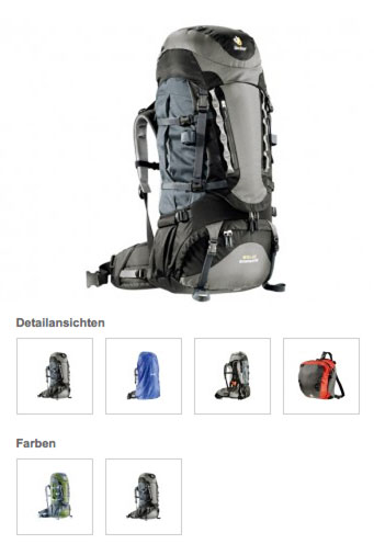 Deuter AirContact Pro 60+15 Trekkingrucksack