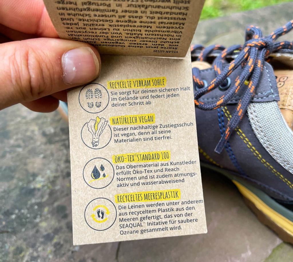 Die Schuhe von Doghammer vereinen gutes Schuhwerk mit ökologischen Aspekten.