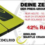 Crashpad unter 100 EUR: Bergfreunde reduziert Edelrid Mantle