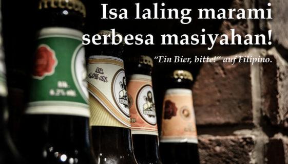 Ein Bier, bitte – in 50 Sprachen