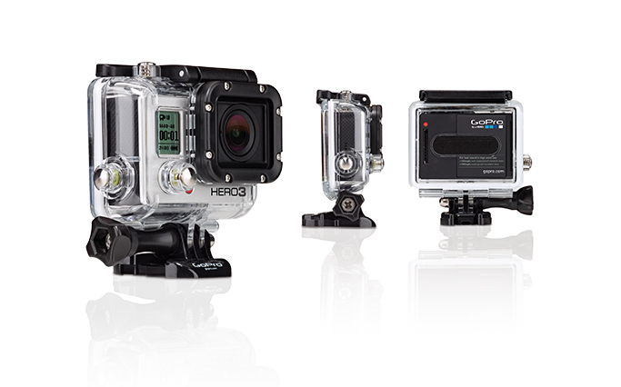 GoPro Hero 3 im wasserdichten Case
