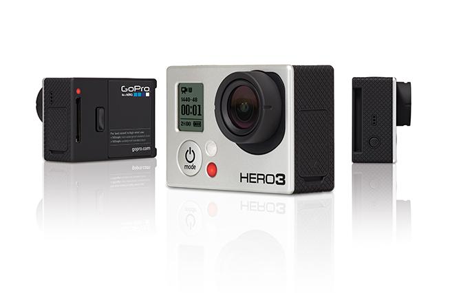 GoPro Hero 3 schwarzes Modell
