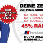 Herren-Hardshelljacke mit 45% Rabatt: Berghaus Mount Asgard Smock