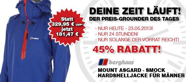Angebot Hardshelljacke Berghaus Mount Asgard