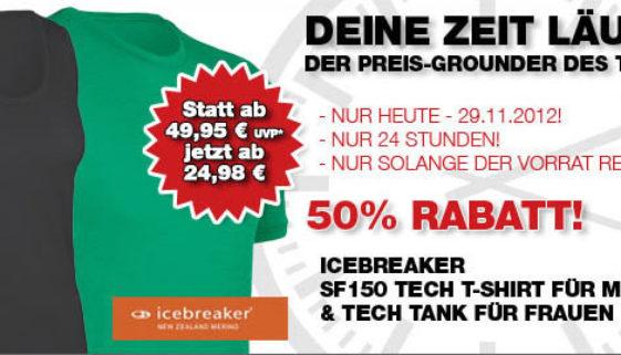 Icrebreaker T-Shirt und Tank Top bei Bergfreunde