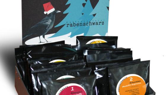 Kaffee Adventskalender 2012 von rabenschwarz
