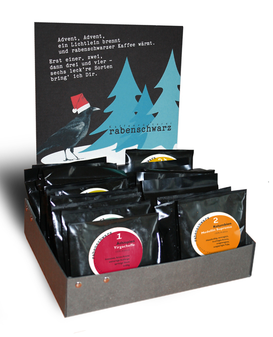 originelle geschenkidee adventskalender f r kaffees chtige bergsteiger outdoorshopper. Black Bedroom Furniture Sets. Home Design Ideas