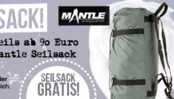 Kletterseil Seilsack Aktion