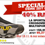 La Sportiva Crossover GTX mit 40% Rabatt im Angebot der Bergfreunde