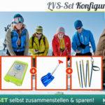 LVS Gerät im Set mit Schaufel und Sonde günstig bei Bergzeit kaufen