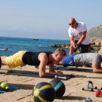 Abnehmen unter Palmen bei einem Fitness Urlaub auf Mallorca