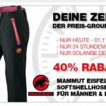 Mammut Softshellhose Eiger Extreme mit 40% Rabatt kaufen
