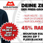 Mountain Equipment Fleecejacke für Männer mit 45% Rabatt