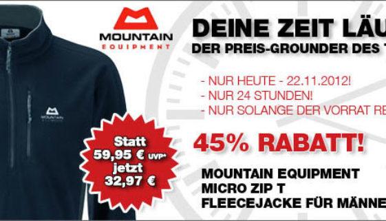 Micro Zip T Fleecejacke Männer - Bergfreunde Angebot