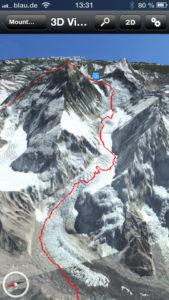 Mount Everest 3D Normalweg
