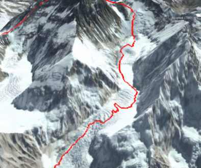 Mount Everest 3D Normalweg