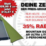 Ultraleichtes 2-Personenzelt von Mountain Equipment im Angebot