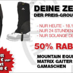 Mountain Equipment Gamaschen Matrix Gaiter - 50% Rabatt