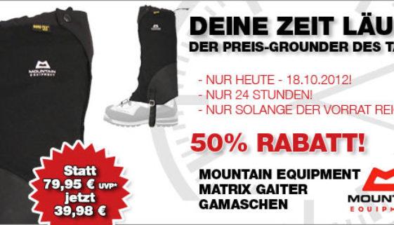 Mountain Equipment Matrix Gaiter Gamaschen