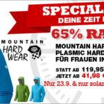 Damen-Hardshelljacke von Mountain Hardwear im Angebot bei Bergfreunde.de