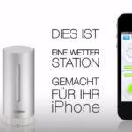 """netatmo Wetterstation """"Urban Weather Station"""" für iPhone und iPad"""