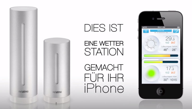 Netatmo Wetterstation Urban Weather Station