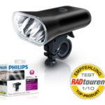 Helles LED Fahrradlicht mit StVZO Zulassung: Philips SafeRide LED