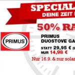 Primus Gaskocher DuoStove im Angebot mit 50% Rabatt