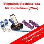 Slackline-Set für Rodeoline