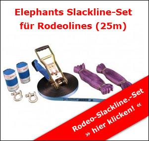 Rodeo Slackline Set