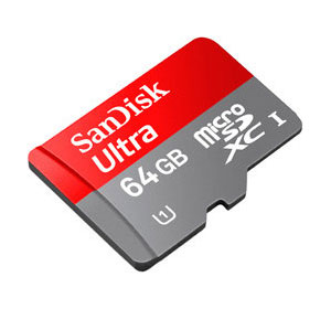 ScanDisk 64 GB SD-Karte