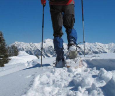 Schneeschuhe – trendiger Wanderspaß im Tiefschnee