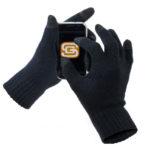Männergeschenk: Touchscreen Handschuhe fürs iPhone Tippen im Winter