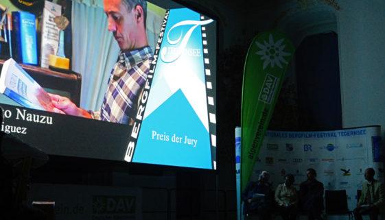 Vorführung beim Tegernseer Bergfilm-Festival