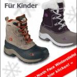 Warme Kinder-Winterstiefel für Mädchen und Jungen von The North Face